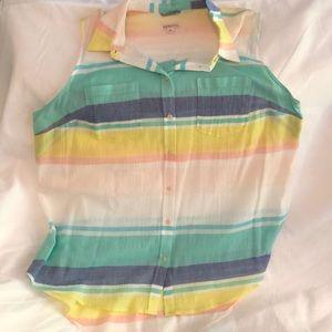 Final Price. Light colored fabric, sleeveless